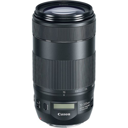 Canon EF 70-300mm IS II USM Telephoto zoom lens for Canon EOS SLR cameras