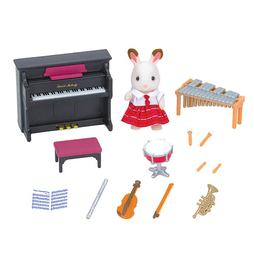 Calico Critters School Music Set