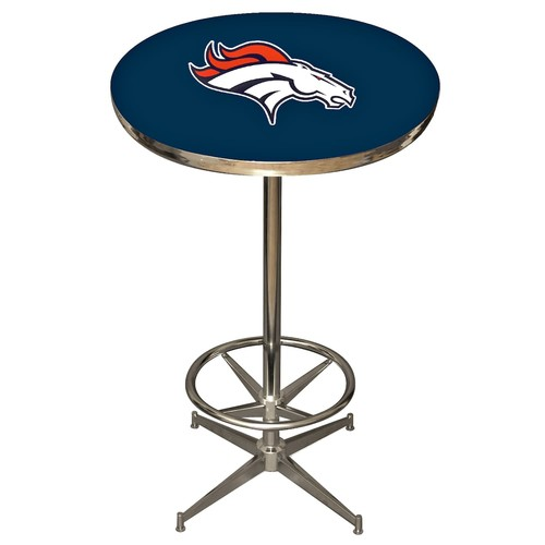 Imperial NFL Pub Table, Denver Broncos