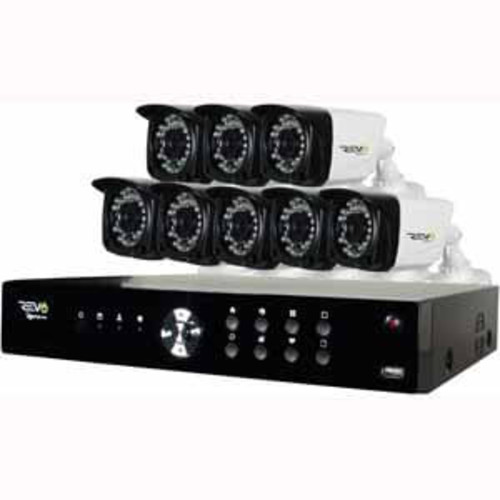 Revo 16Channel Digital Video with 8 x 1080p Cameras and Pre-Installed 2TB Hard Drive : RA161FRYS