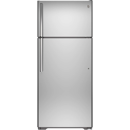 GTE18GSHSS 17.5 cu. ft. Top-Freezer Refrigerator - Stainless Steel