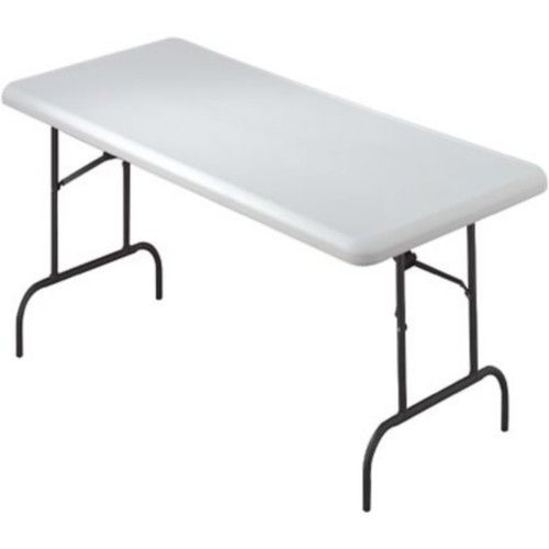 Iceberg IndestrucTables TOO 1200 Series Folding Table; 60x30