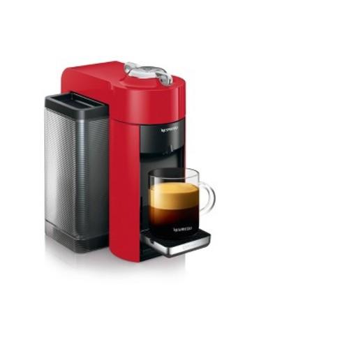 Nespresso Vertuo Coffee and Espresso Machine by De'Longhi, Red