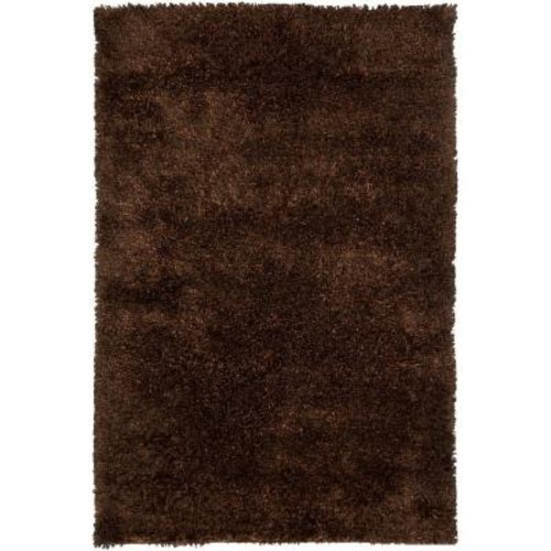 Chandra Dior Brown/Black 5 ft. x 7 ft. 6 in. Indoor Area Rug