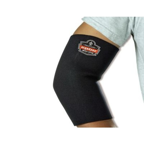 Ergodyne ProFlex Black Neoprene Elbow Sleeves