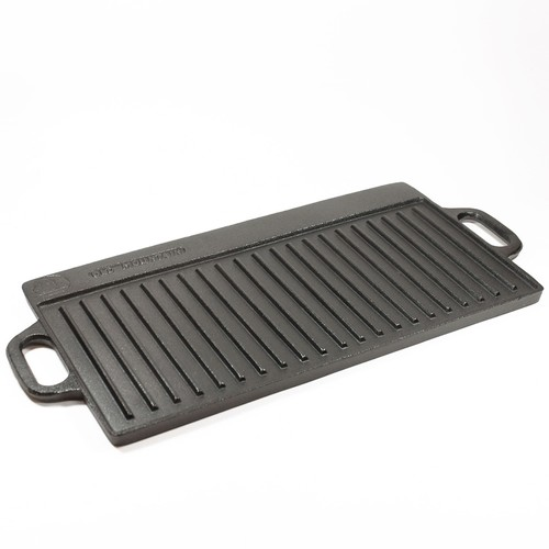 Mountain Cast Iron Two-Burner Reversible Grill/Griddle - 20