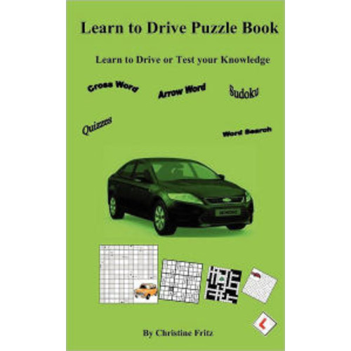 Learn to Drive Puzzle Book: Car Driving Puzzles