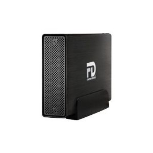 Fantom Drives Gforce3 - Hard drive - 4 TB - external (desktop) - USB 3.0 - Plug and Play - brushed black