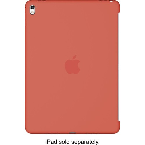 Apple - iPad Pro 9.7-inch Silicone Case - Apricot