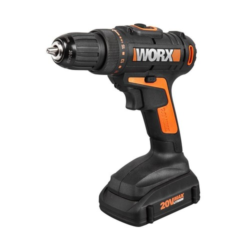 Worx 20-Volt Lithium-Ion 3/8 in. Cordless Drill/Driver