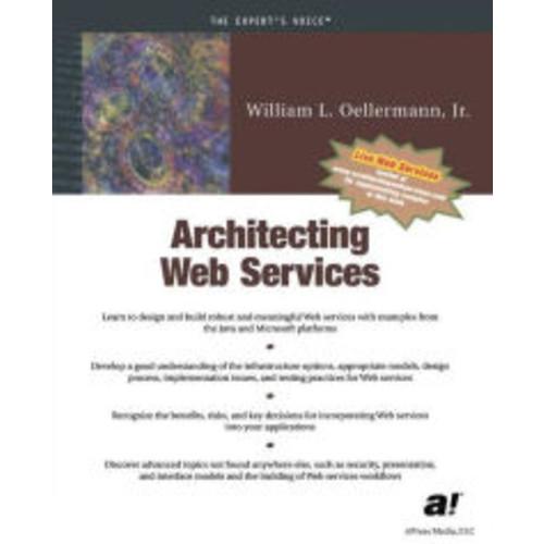 Architecting Web Services / Edition 1