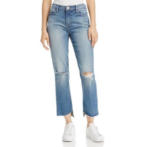 FRAME Le High Step Hem Crop Flare Jeans In Arrington - 100% Exclusive
