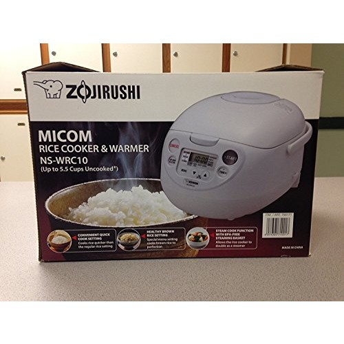 Zojirushi Rice Cooker & Warmer (Ns-wpc10 5.5 Cups)