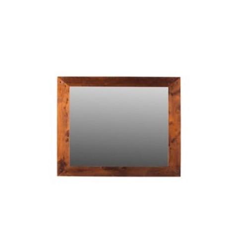 Loon Peak William Accent Mirror; Honey Brown