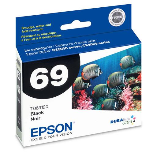 Epson T069120 DURABrite Ultra Ink, Black