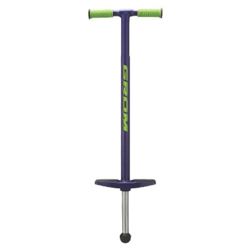 National Sporting Goods Grom Pogo Stick - Purple/ Green (5.0 Lb)