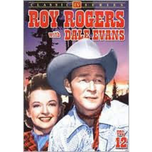 Roy Rogers with Dale Evans 12 / (B&W)