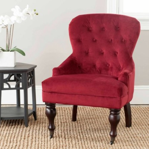 Safavieh Falcon Upholstered Arm Chair, Multiple Colors
