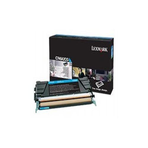 Lexmark - Cyan - original - toner cartridge LCCP - for C746dn, 746dtn, 746n, 748de, 748dte, 748e