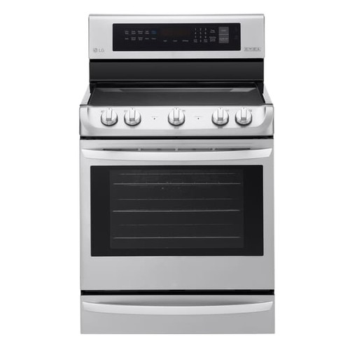 6.3 cu. ft Electric Single Oven Range with ProBake Convection and EasyClean