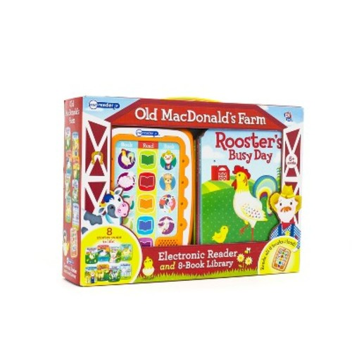 MacDonald's Farm Electronic Me Reader Jr Story Reader and 8-book Boxed Set