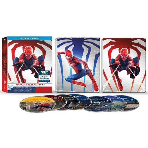 Spider-Man Legacy Collection [SteelBook] [Blu-ray] [Only @ Best Buy]