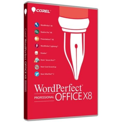 WordPerfect Office X8 Pro for Windows (1 User) [Download]