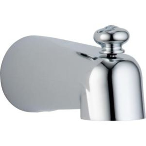 Delta 5-1/2 in. Pull-Up Diverter Tub Spout in Chrome