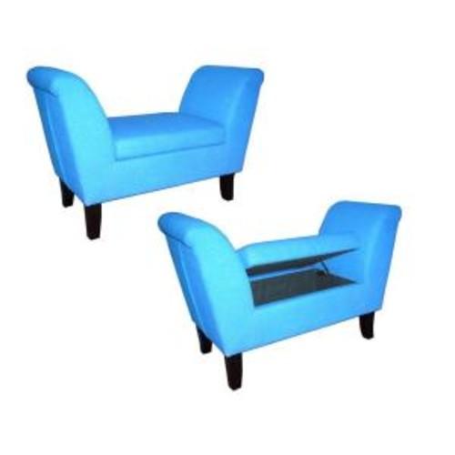 ORE International HB Blue Settees
