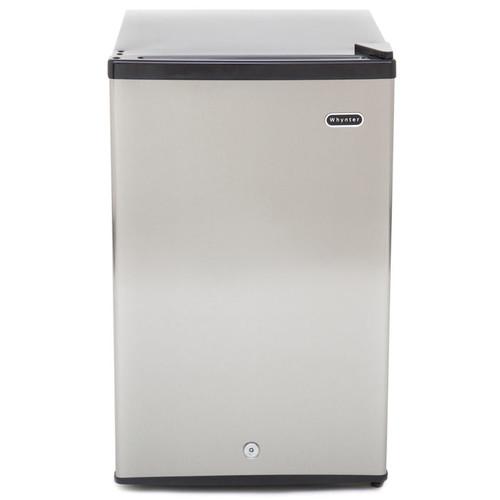 Whynter 2.1 Cu. Ft Energy Star Stainless Steel Upright Freezer w/ Lock
