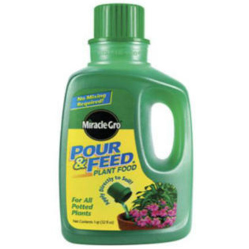 Miracle Gro Miracle-Gro 1006002 Pour & Feed Liquid Plant Food, 32 Oz