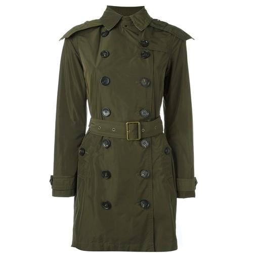 BURBERRY 'Balmoral' Hooded Raincoat