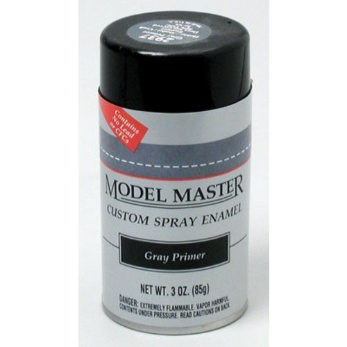 Gray Primer Spray Testors