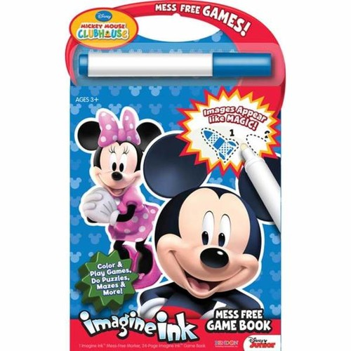 Bendon Disney Mickey Mouse Clubhouse Magic Ink with Mess-Free Marker