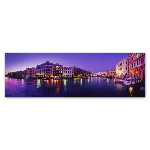 Trademark Global John Xiong 'Grand Canal' Canvas Art