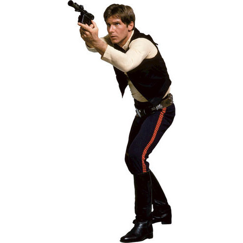 RoomMates Star Wars Classic Han Solo Peel & Stick Giant Wall Decal