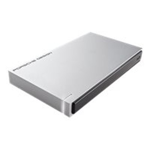 LaCie Porsche Design Mobile Drive for Mac - External, 1TB, USB 3.0, 5Gbps, Portable, Silver - STET1000400