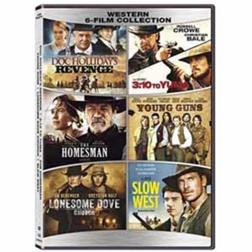 Western 6:Film Collectio Lgt51811Dvd/Westerns