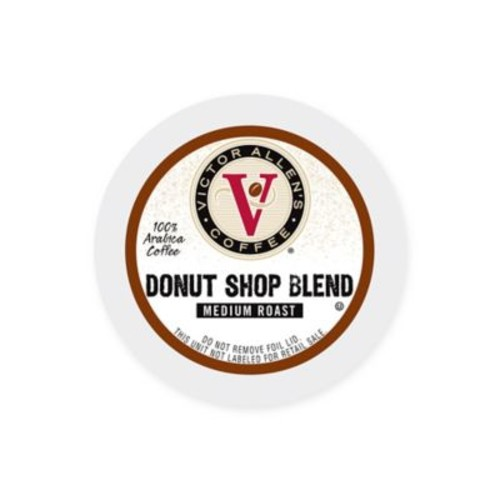 80-Count Victor Allen Donut Shop Blend Coffee for Single Serve Coffee Makers