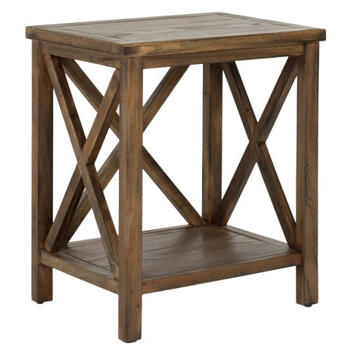 Safavieh Candence End Table in Oak