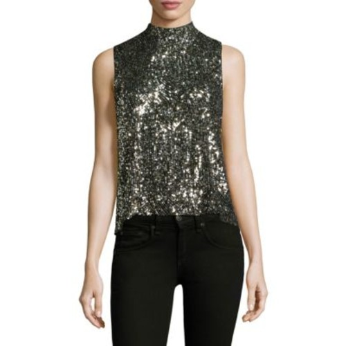 EQUIPMENT Benton Sleeveless Sequined Top
