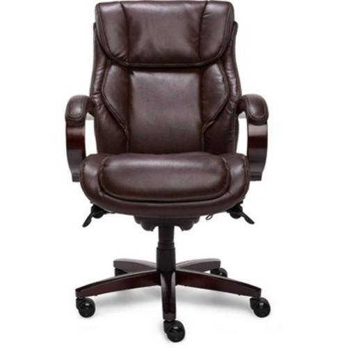 La-Z Boy - Leather Executive Chair - Coffee Brown