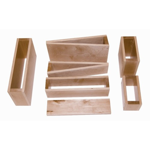 Whitney Brothers Hardwood Block Set, Hollow [Hollow]