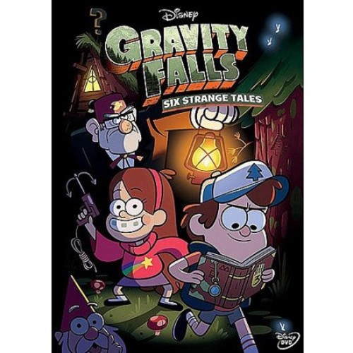 Gravity Falls: Six Strange Tales (W/Book) - Widescreen - DVD