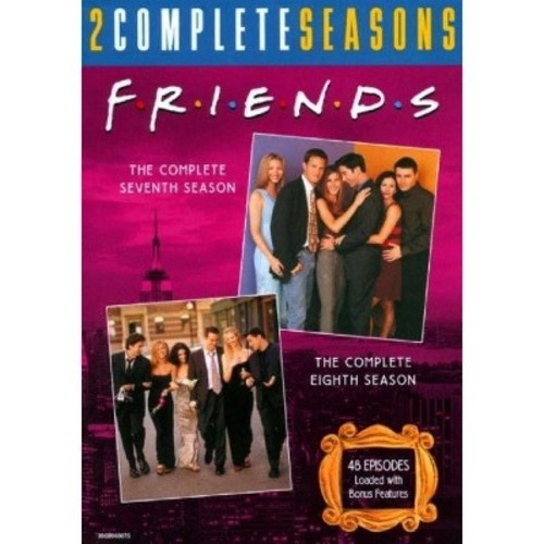 Friends: The Complete Seventh and Eighth Seasons [8 Discs] [DVD]