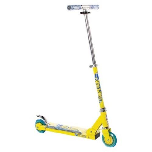 Hot Wheels Folding Scooter - Yellow/Blue