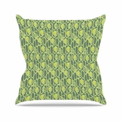 East Urban Home Holly Helgeson Pod Perfect Patttern Outdoor Throw Pillow; 16'' H x 16'' W x 5'' D