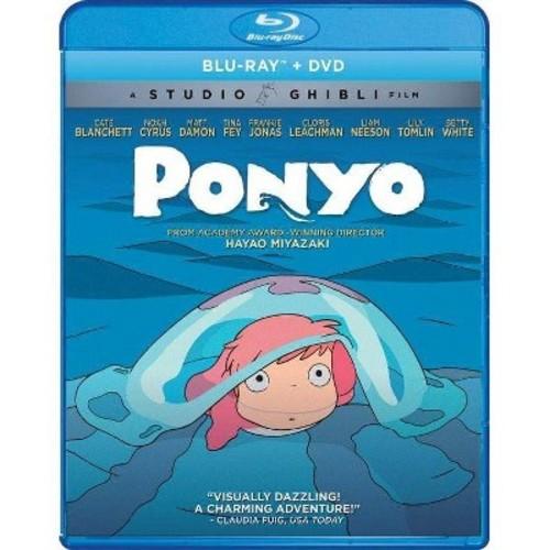 Ponyo [DVD] [Blu-Ray]
