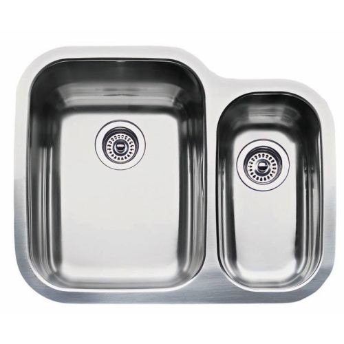 Blanco Supreme Undermount Stainless Steel 26 in. 1-1/2 Double Single Bowl Kitchen Sink