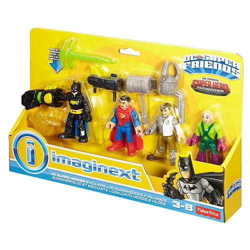 Fisher-Price Imaginext DC Super Friends DC Super Heroes & Villains
